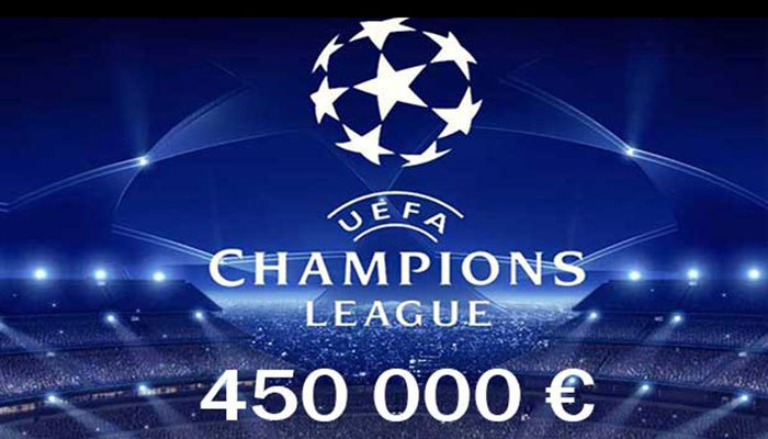 Champions League Clubs erhalten 450 000 € Preisgeld